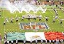 Los equipos elegidos para representar a la NLF en suelo mexicano son los Texans de Houston y los Raiders de Oakland.  El histórico partido se disputara en el estadio Azteca en la ciudad de México.  Foto: Archivo