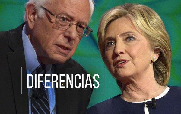 Clinton y Sanders chocan sobre sus historiales y propuestas en inmigración