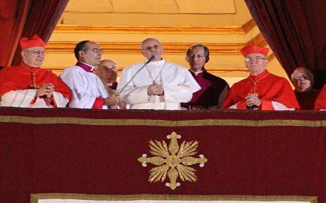 """""""Habemus Papam""""  A dos años del pontificado de Bergoglio"""