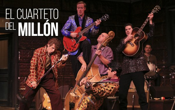 Elvis Presley, Johnny Cash, Jerry Lee Lewis y Carl Perkins reviven en Houston
