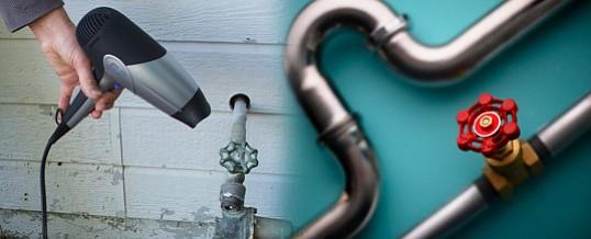 Cómo descongelar una tubería y cómo evitar que se congele