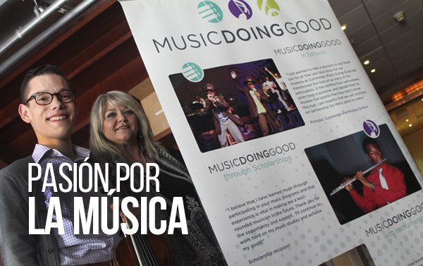 Music Doing Good en Houston planea entregar decenas de becas para estudiar música