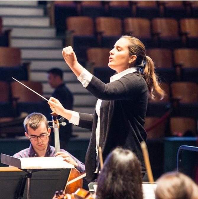 Lina Gonzalez, la colombiana que dirige Unitas Ensemble