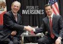 El presidente de México, Enrique Peña Nieto, y el gobernador de Texas (EE.UU.), Greg Abbott./Foto:EFE