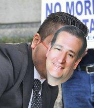 Manifestaciones a favor y en contra de los candidatos republicanos comienzan a sentirse en Houston.