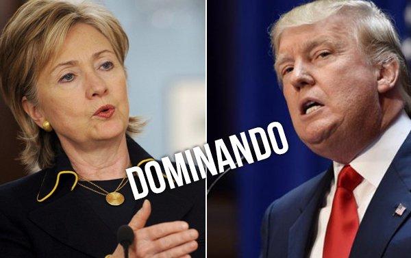 Trump y Clinton ganan en Florida, según resultados oficiales preliminares
