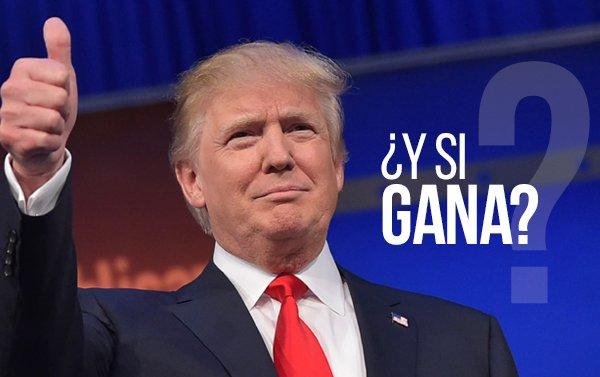 Un posible escenario si Donald Trump se convirtiera en el presidente de los Estados Unidos