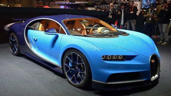 Con sus 1500 caballos de fuerza a bordo, llegó el Bugatti Chiron