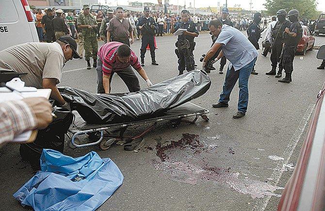 La violencia se agudiza en Sinaloa