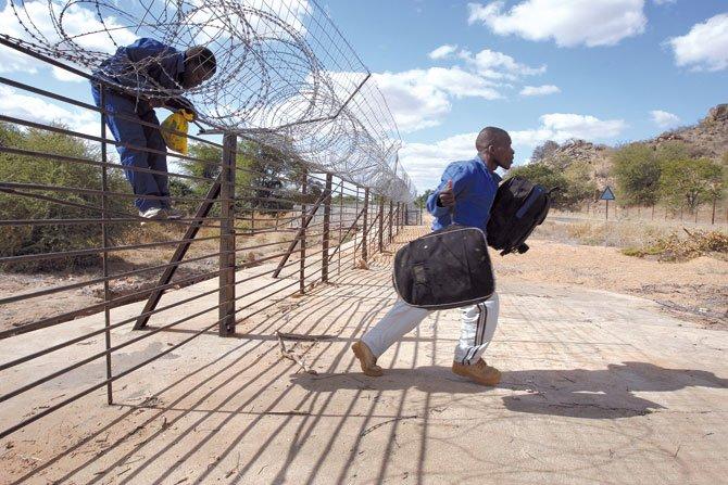 La silenciosa  migración africana