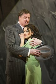 John Hancock and Sandra Piques Eddy in Boston Lyric Opera's Werther -- Photo T. Charles Erickson