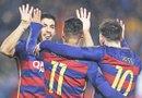 El Barcelona es uno de los favoritos para quedarse con el trofeo de la Champions League, sin embargo debe enfrentar a un Atlético de Madrid que está dispuesto a dar la pelea. Foto: EFE