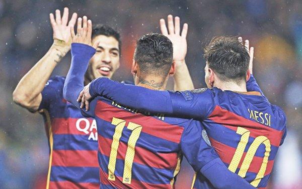 Resultados de los cuartos de final de la  Liga de Campeones y la Liga Europa