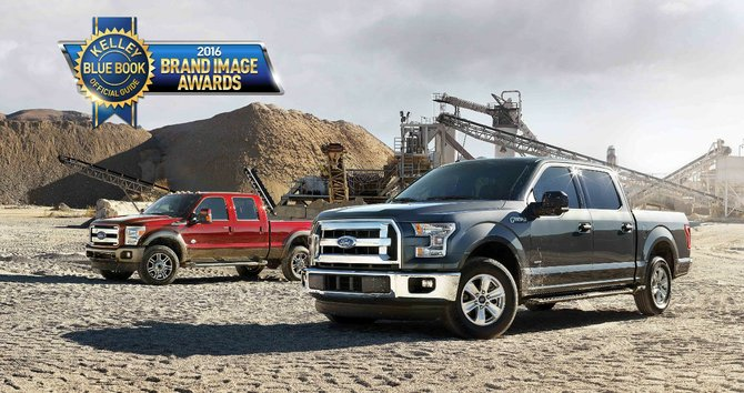 Kelley Blue Book nombra a la Ford F 150 como la mejor pick up del mercado