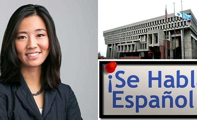 Michelle Wu presenta ordenanza para que todos los servicios municipales estén disponibles en español