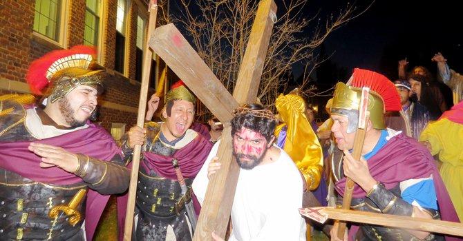 Devoción en el área por Semana Santa
