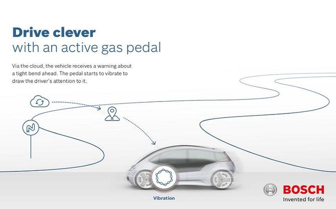 Bosh a creado un pedal inteligente