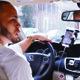 CONDUCTOR. Andrés Wells es un inmigrante dominicano que es chofer para la empresa Uber en el área metropolitana de Washington.