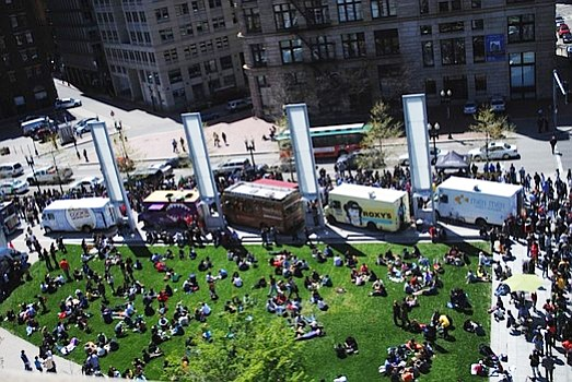 Festival de Foodtrucks en el Greenway de Boston
