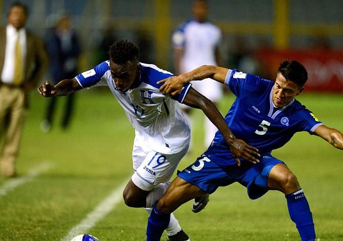 El Salvador y Honduras empatan 2-2 en eliminatoria mundialista