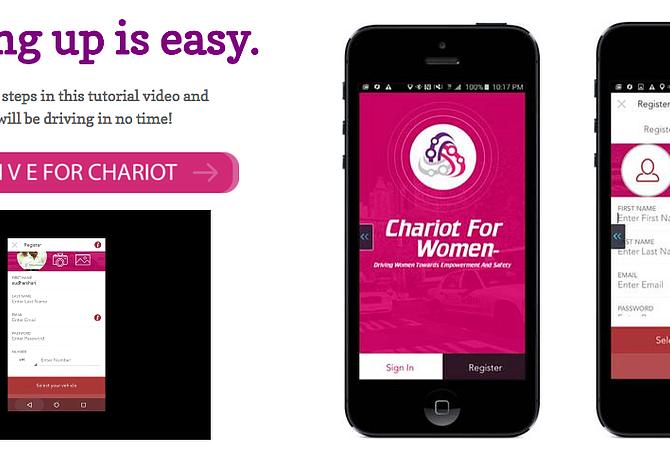 Pareja de Boston crea una app alternativa a Uber sólo para mujeres