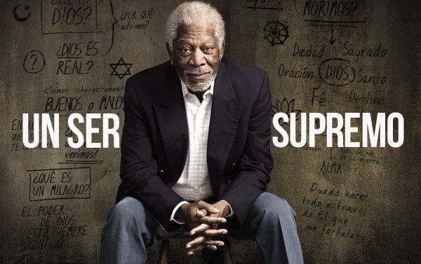 """Morgan Freeman en busca de  """"La historia de Dios"""""""