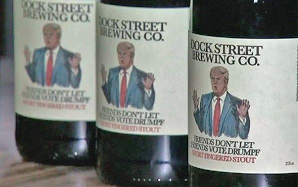 """Crean una cerveza """"anti-Trump"""" en Filadelfia"""