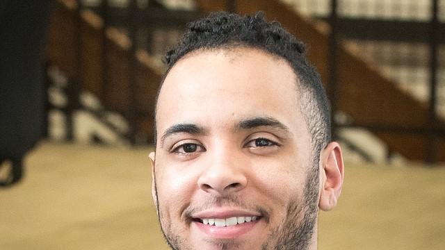 Carlos Rivera, estudiante del Northern Essex Community College