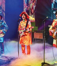 """Imagen del espectáculo RAIN: A Tribute to the Beatles"""". Fotos Cortesía de Richard Lovrich"""