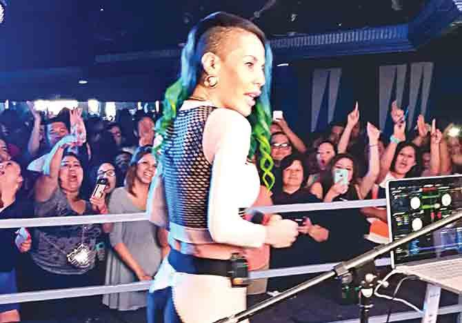 Ivy Queen brilló en  La Rumba