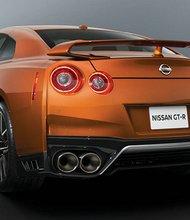 Vista del Nissan GTR durante su presentación con motivo de la celebración del Salón Internacional del Automóvil de Nueva York (NYAS). EFE