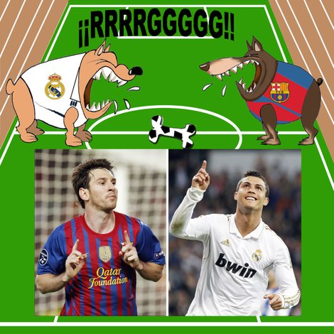 Real Madrid y Barcelona juegan por el honor
