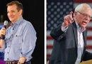 Los senadores Ted Cruz y Bernie Sanders son los favoritos para ganar las elecciones primarias./Foto:EFE