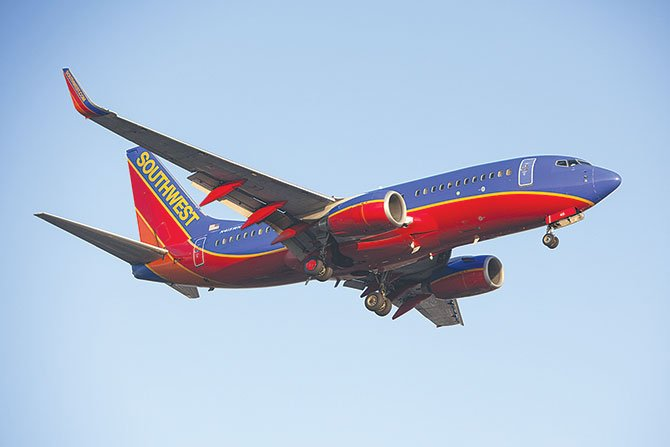 Southwest Airlines suspende vuelo a México