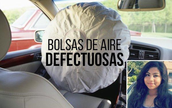 Muere una adolescente en Houston por explosión de un airbag Takata defectuoso
