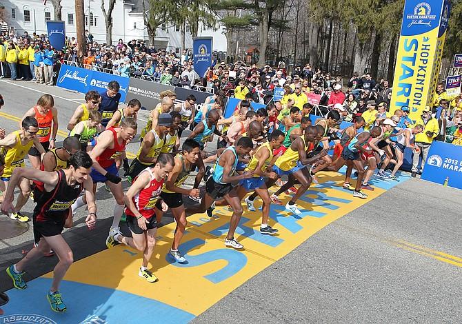Maratón de Boston celebra su aniversario 120 con más de 30.000 participantes