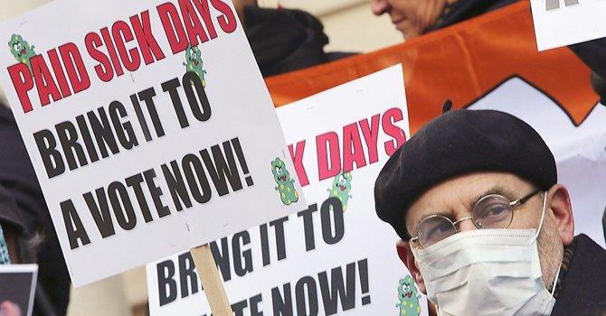 La batalla por días de enfermedad pagados en Maryland