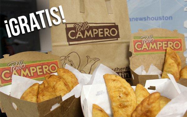 Disfrute de empanadas 'gratis' en Pollo Campero
