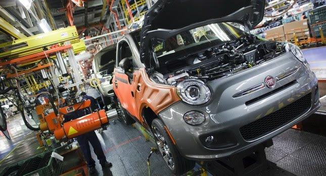 Siguen cayendo las ventas y producción de Fiat Chrysler en México