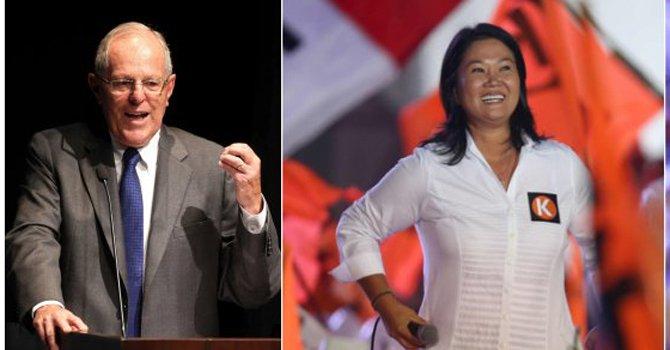 Perú: Fujimori y PPK se irán a segunda vuelta por la presidencia