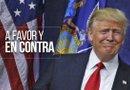 Donald Trump, el precandidato republicano a la nominación presidencial, es muy poco popular entre los hispanos, en especial por sus posturas hacia los inmigrantes, pero no todos están en contra de él./Foto:Sylvia Obén