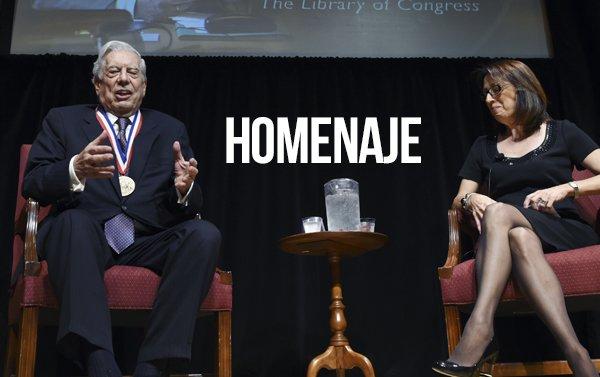 Biblioteca del Congreso convierte a Vargas Llosa en Leyenda Viviente