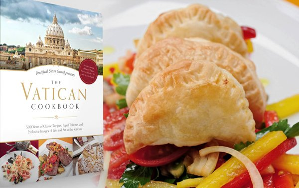 Libro de cocina celebra los favoritos platos y sabores del Vaticano