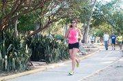 ATLETA. Gina Saraceni es una maratonista venezolana que sufrió muchas dolencias en el Maratón de Boston 2013. Hizo un gran esfuerzo por alcanzar la meta y cuando casi lo lograba explotaron las bombas y detuvieron la carrera.