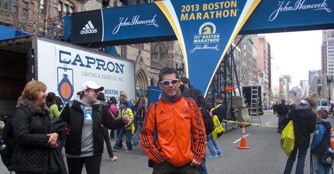 Memorias del Maratón de Boston de 2013