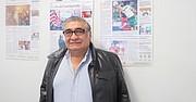 DIRIGENTE. El salvadoreño Elías Polío durante una reciente visita a la redacción de El Tiempo Latino en Washington, DC.