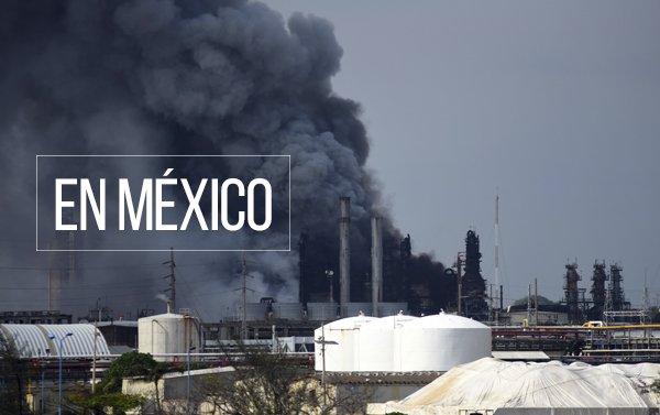 Sube a 13 la cifra de muertos por explosión en planta petroquímica de México