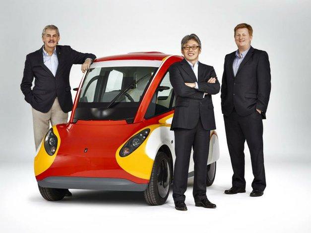 Shell dio a conocer un nuevo prototipo de automóvil urbano