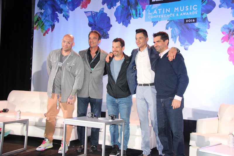 Junto con Luis Coronel, estuvieron James Cruz, presidente de la empresa Bad boy Management; Steven Espinoza, vicepresidente y manager general de Showtime Networks y Keving Wilson, director musical de ESPN.