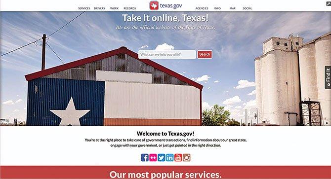 Hágalo fácil con Texas.gov